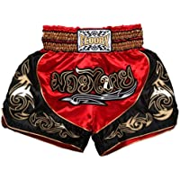 FLUORY Muay Thai Fight Shorts,MMA Shorts Clothing Training Cage Fighting Grappling Martial Arts Kickboxing Shorts…