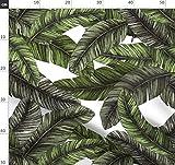 Banane, Tropisch, Blatt, Dschungel, Sommer, Kissen Stoffe -