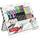 edding 4-1200-20 viltstift Color Pen, 0,5 - 1 mm, gesorteerd, 20 stuks 15 Stück multi