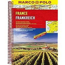MARCO POLO Reiseatlas Frankreich 1:300.000 (MARCO POLO Reiseatlanten)