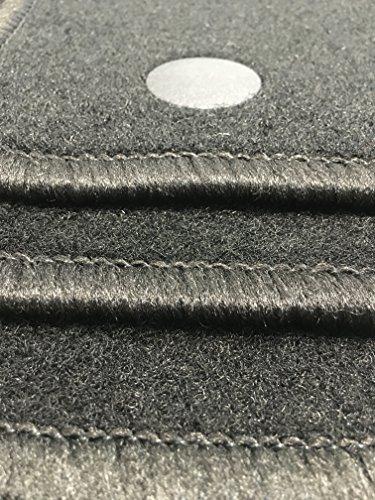 Preisvergleich Produktbild Velours Auto Fußmatten perfekt an Form angepasst (O)