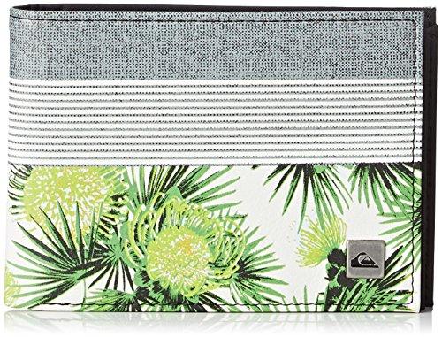 Quiksilver Freshness II Porta Carte di Credito, 13 cm, Protea White
