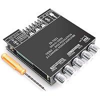 RUIZHI 2x50W + 100W Scheda amplificatore subwoofer a 2.1 canali con controllo alti e bassi, doppio chip TPA3116, DC 12…