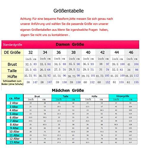 KekeHouse® Ein-Schulter A-Linie Maxi Brautjungkleid Mit Kristall Gürtel Mutter Tochter Abendkleid Geblümtes Partykleid Blumenmkleid Mintgrün