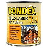 Bondex 3in1 Holzlasur für außen 0,75 Liter nussbaum