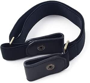 BESTZY Fashion Belt Schnallenfreier Verstellbarer G/ürtel Ohne Schnalle f/ür Unsichtbarer Elastischer G/ürtel f/ür Jeans Hosen