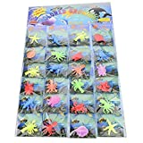 24 Pack of 24 Jelly Growing Sea Life Creatures-Fun for Boys and Girls, Mix