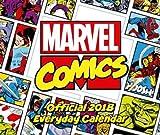 Marvel Comics Official 2018 Desk Block Calendar - Page-a-Day Format Desk Calendar