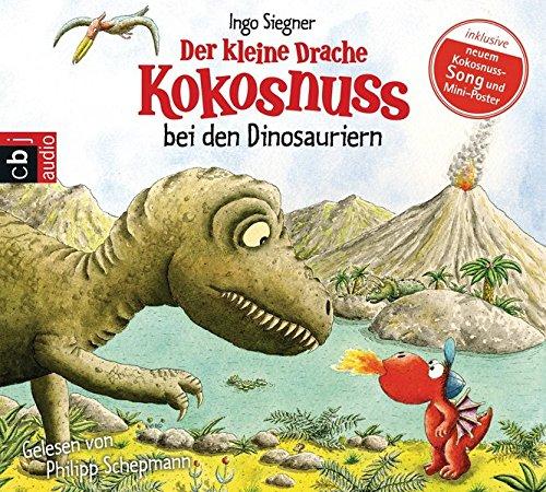 Preisvergleich Produktbild Der kleine Drache Kokosnuss bei den Dinosauriern (Die Abenteuer des kleinen Drachen Kokosnuss, Band 20)