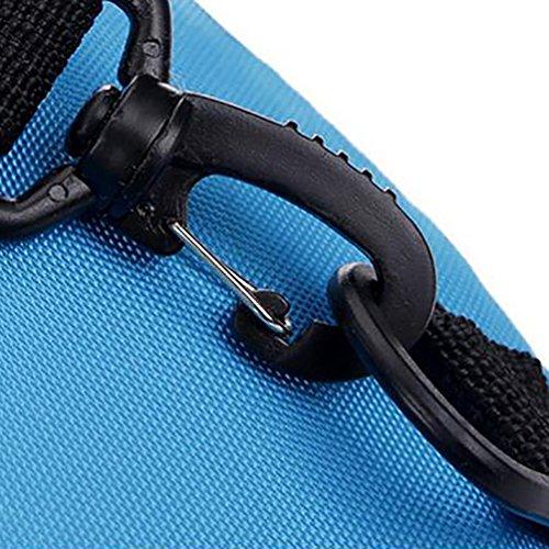 Baymate Unisex Sportiva Zaino Con Un Sacco Di Tasche Per Sport Outdoor Azzurro
