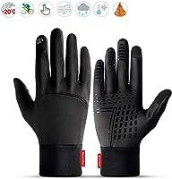 Lzfitpot Handschuhe Herren, Winterhandschuhe bis zu -40℃ Damen Handschuhe Touchscreen Warm Fahrradhandschuhe...