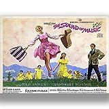 Sound of Music Film Film Poster Vintage Retro-Stil Leinwand Wand Kunstdruck Bild groß Klein