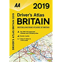 Drivers Atlas Britain 2019 Flexibound (AA Road Atlas Britain)