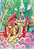 1000 piece jigsaw puzzle Disney MIYABI Mickey Minnie Japanese style modern wedding (51x73.5cm) by Tenyo