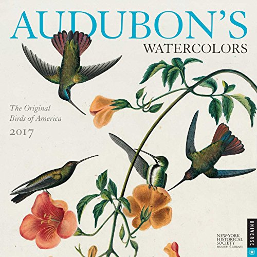 Audubon's Watercolors 2017 Calendar: The Original Birds of America