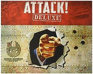 Eagle-Gryphon Games EAG01819 Attack! Juego de Estrategia Deluxe, familias.