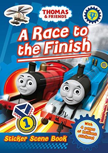 Thomas and Friends: A Race to the Finish (Sticker Scene Book) (Thomas & Friends) por Egmont Publishing UK