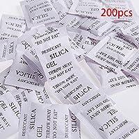 Lionina - Desecantes de Gel de sílice (200 Unidades, 1 g)