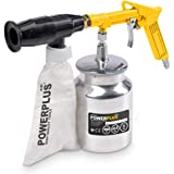 Varo Perslucht zandstralen pistool, inclusief 2 kg zand