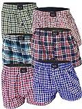 6er Pack Sport Boxershorts für Herren Unterwäsche Sets Unterhosen für Männer aus Baumwolle mit Eingriff Schlüpfer Mann (L, 6er Pack)