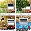 Solar Light Garden Outdoor LED Easternstar Solar Step Light