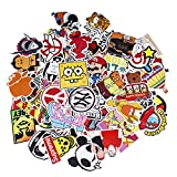 Sticker Pack 100-Pcs,Neuleben Sticker Decals Vinyls for Laptop,Kids,Cars,Motorcycle,Bicycle,Skateboard Luggage,Bumper Stickers Hippie Decals bomb Waterproof … (sticker-5)