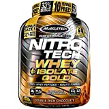 Muscletech Nitrotech Whey Isolate Gold - 1.81 Kg (Double Rich Chocolate)