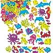 Super Sealife Foam Stickers - Pack of 102