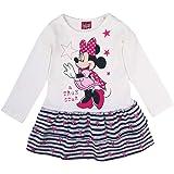 Disney niñas Minnie Mouse Vestido, Blanco