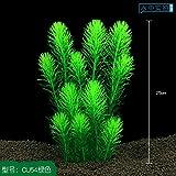 acquario di giardinaggio decorazione acquario sfondo erba insieme alla decorazione accessori piccole decorazioni imitazione vera piante,cu54 verde