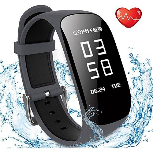 785105fe524f6 Montre Cardio, Showyoo Bracelet Connecté Sport Cardiofréquencemètre ...