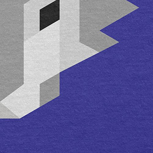 TEXLAB - Simple Wolf - Damen T-Shirt Marine