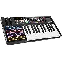 M-Audio - CODE 25 - Clavier Maître MIDI 25 Touches AfterTouch avec Pad Tactile X/Y, 16 Pads, 5 Faders + Logiciels VIP 3, Ableton Live Lite, Hybrid 3 et Loom Inclus - Noir