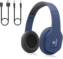Cuffie Bluetooth Senza fili,Auricolari Bluetooth con Microfono per iOS e Android Bluetooth 4.1 Compatibile con Android iOS e Tablet, TV