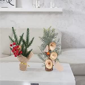 ABOOFAN 6 anelli per candele natalizie per Halloween con bacche di abete rosso e pigne matrimoni Natale centrotavola feste Capodanno