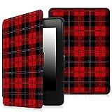 Fintie SmartShell Schutzhülle für Kindle Paperwhite Z -Checkered Kilt