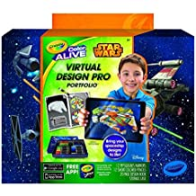 Crayola Color Alive Star Wars Virtual Design Pro Portfolio