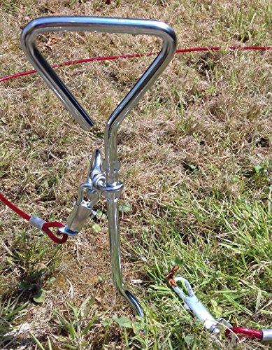 as AZ-3040000 Sumo resistencia: 120 kg Anilla de sujeci/ón para sill/ón colgante