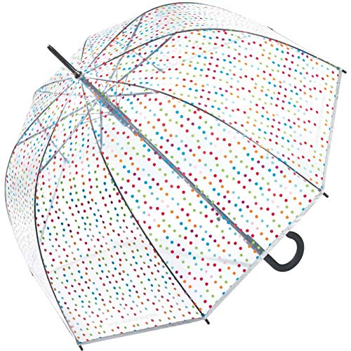 Benetton Stockschirm Long AC Domshape - Multi Dots