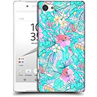 Official Micklyn Le Feuvre Pretty Pastel Hawaiian Florals Hard Back Case for Sony Xperia Z5 Compact