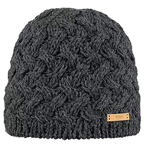 Barts Swirlie Beanie Damen Strickmuetze  Dark Heather