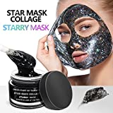 Starry Mask, LeSB Star Face Mask Peel Off Glitter Maske Beauty