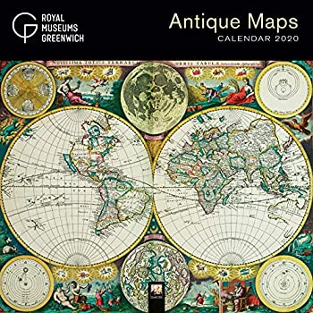 Royal Museums Greenwich – Antique Maps 2020 Calendar