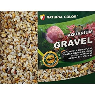 Natural Color Aquarium Fish Tank/Garden Pond Pea Shingle Gravel/Sand 3-5mm 5kg 61IyMZSnW 2BL