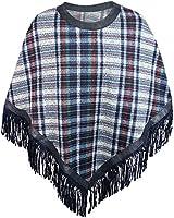 Damen Strick-Poncho Pulli winter Mantel Damen Pullover Top JY-3