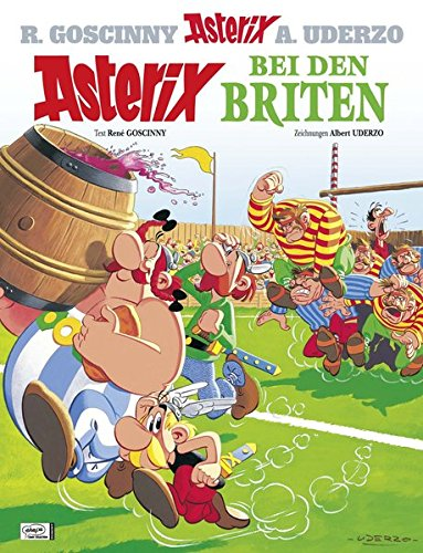 asterix-in-german-asterix-bei-den-briten