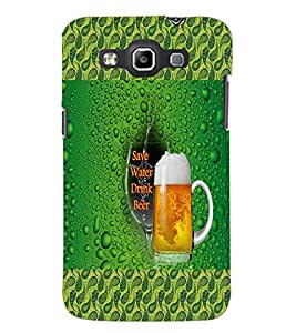 PrintDhaba Beer Mug D-4581 Back Case Cover for SAMSUNG GALAXY WIN i8552 (Multi-Coloured)