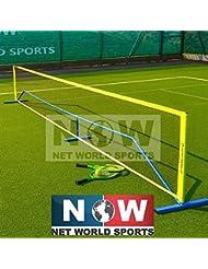 Fußballtennisnetz – [erhältlich in 3m, 5,5m oder 9m] – ideal für Freizeit oder Training - [Net World Sports]