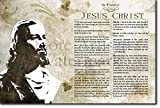 Die Weisheit von Jesus Christ Kunstdruck Hochglanz Foto Poster The Bible Christianity Christian - Maße: 91 x 61 cm