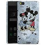 Huawei P9 Lite (2016) Hülle Premium Case Cover Disney Minnie & Mickey Mouse Merchandise Geschenke